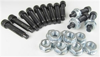 Tapered US Wheel Bolts w Smooth Nuts
