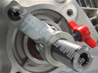Honda crankshaft lock