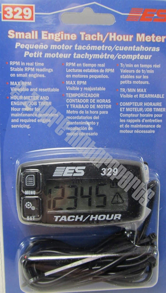 Engine Hour Meter : Electronic specialties small engine tach hour meter