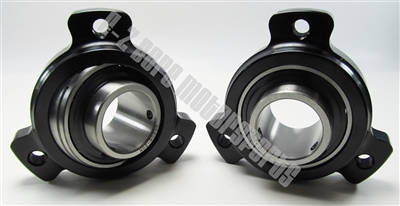 Ezbore Net Pair Of Uc206 20k Bearings With 3 Hole Axle