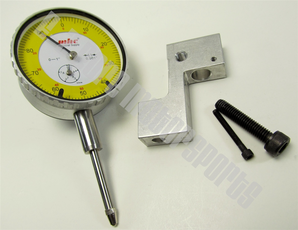 Dial Indicator Mounting In Collet : Dial indicator bracket max lift