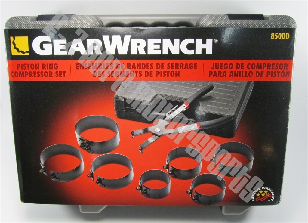GearWrench 850DD Ring Compressor Set | KD Tool | E-Z Bore